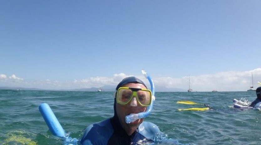 snorkelling in gallipoli
