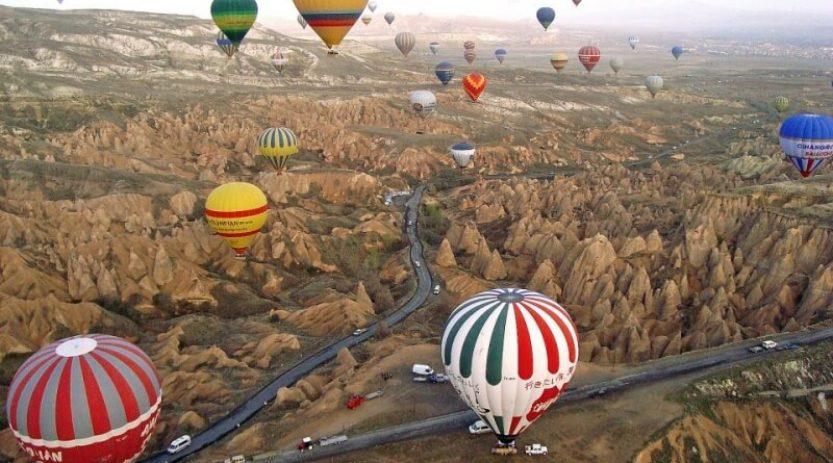 Ballooning in Cappadocia Turkey