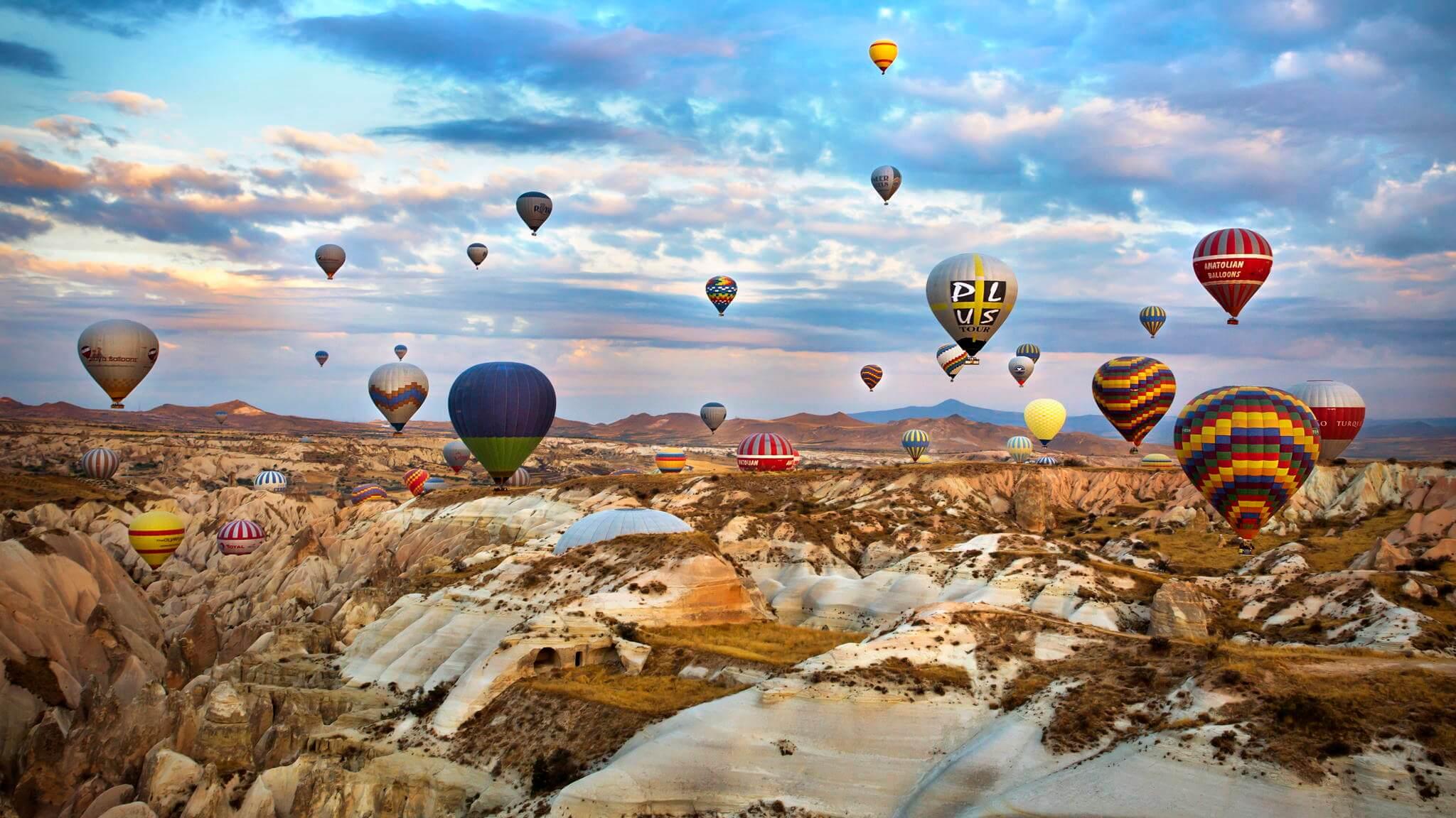 Image result for Cappadocia – Hot air balloon ride