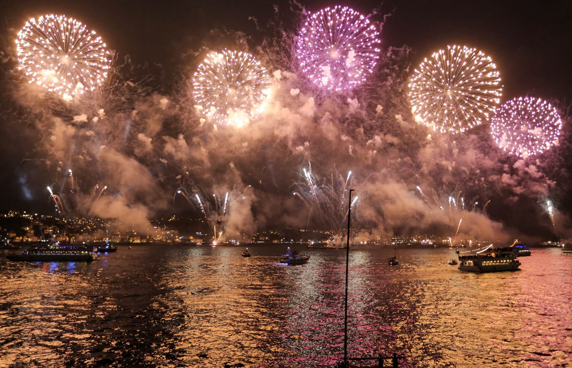new year party bosphorus istanbul