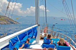Blue Cruise From Fethiye To Olympos – 4 Days