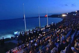 Anzac Day Dawn Service At Gallipoli