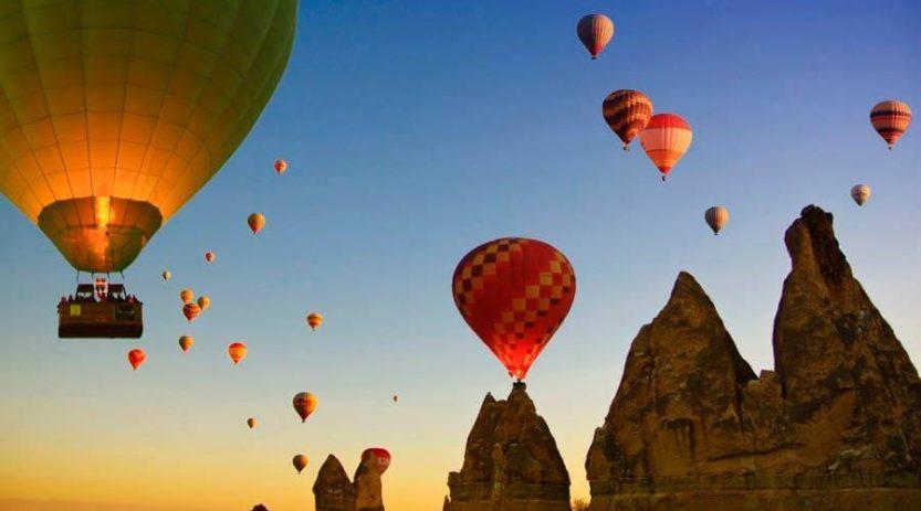 Balloon tours in Cappadocia