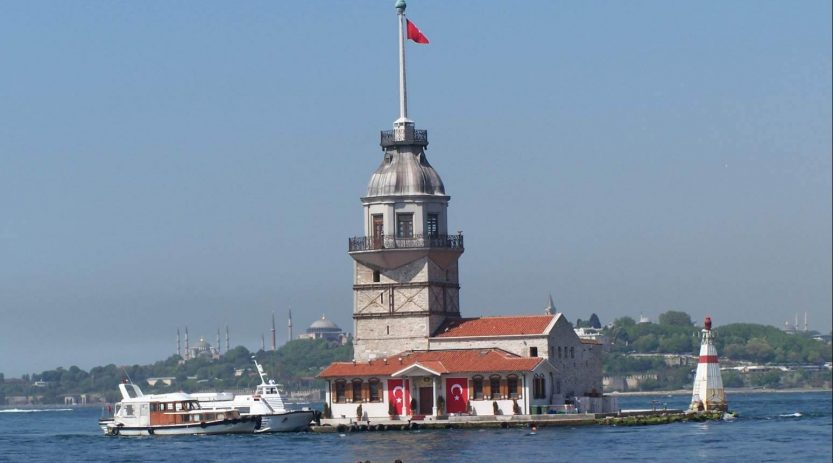 Boat trip on Bosphorus