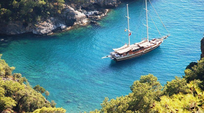 Fethiye Boat Cruise to Olympos