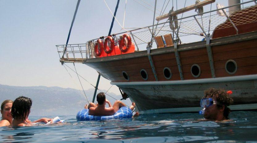 Blue Cruise From Fethiye To Olympos